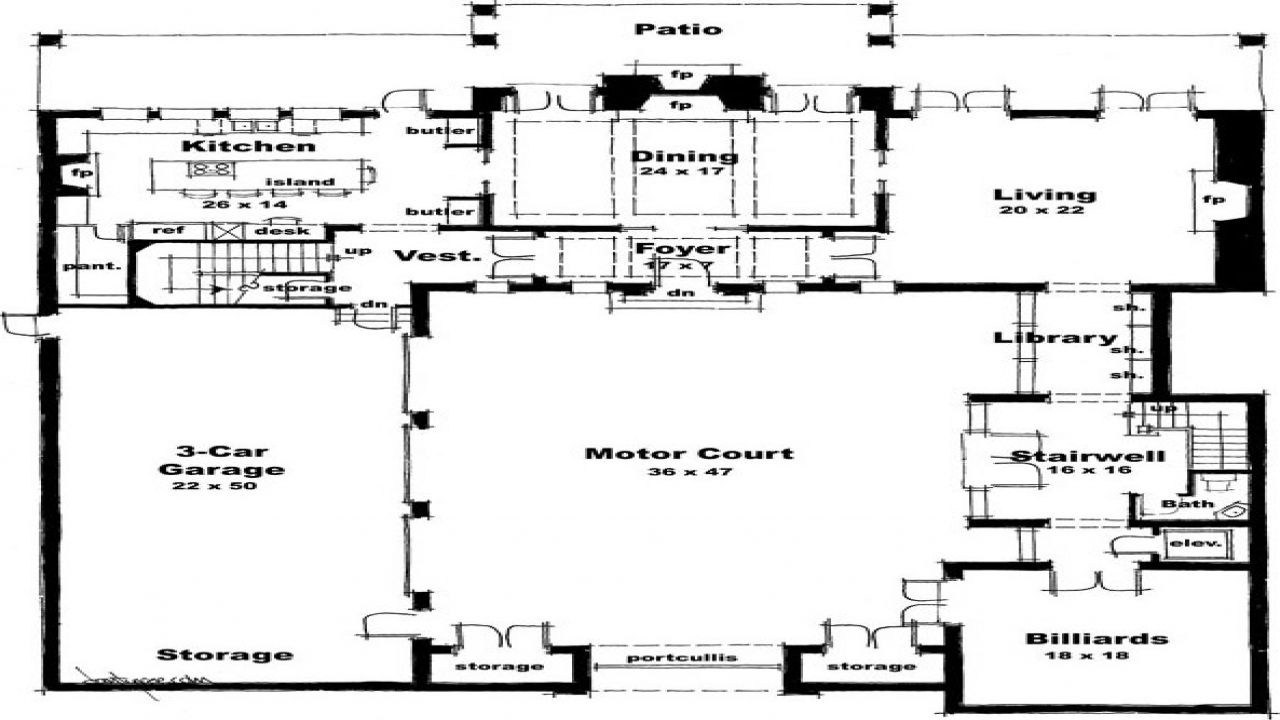 Castle house plans blueprints modern house plans castle for Modern castle floor plans