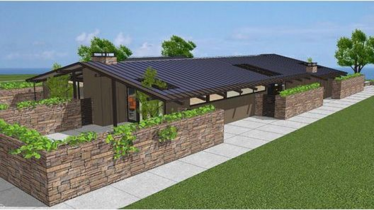 Mid century modern ranch house plans mid century modern for Modern ranch home plans