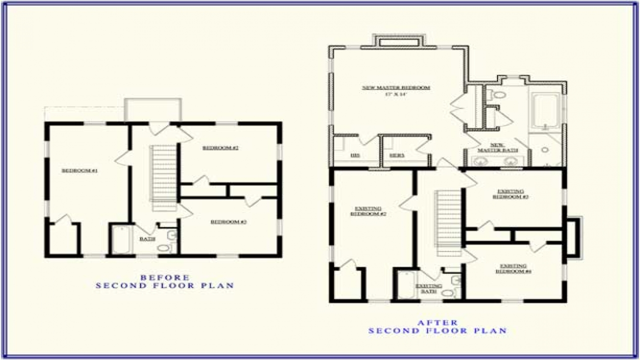 second story addition floor plan up stairs addition ideas lrg 37022a4fdf845ee1