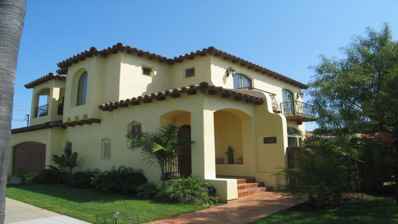 Spanish hacienda style homes spanish colonial style homes for Home architecture styles
