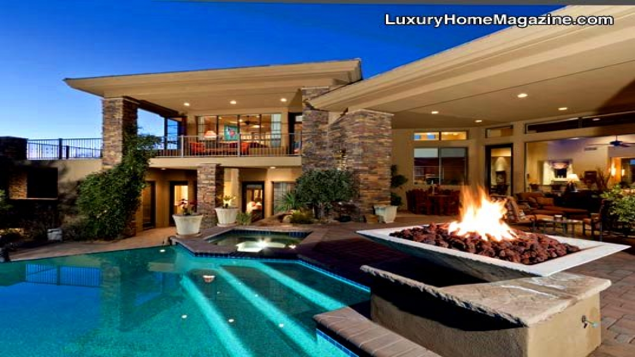 Arizona Luxury Homes Pools Phoenix Luxury Homes Lodge