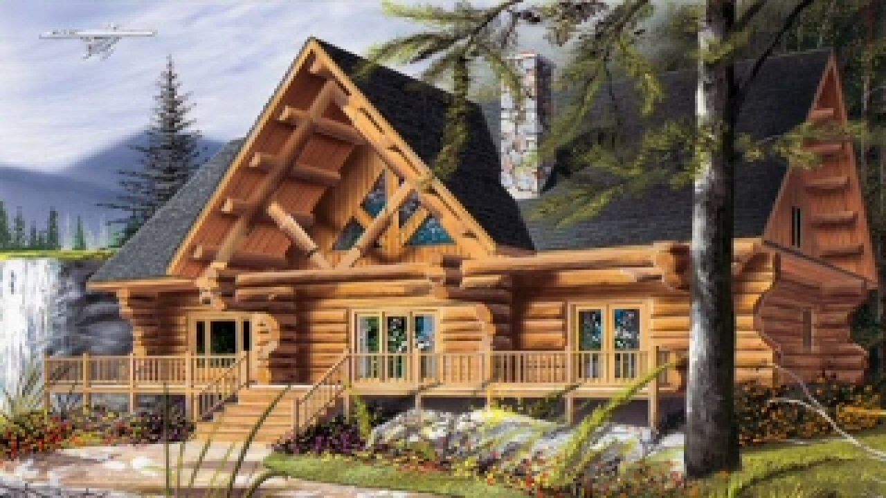 Lake Cabin House Plans Cool Log Cabin Plans Cool Log