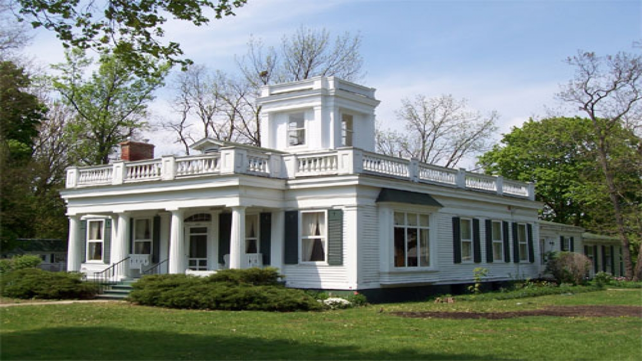 Southern Colonial Style House Greek Revival Plains Treesranch