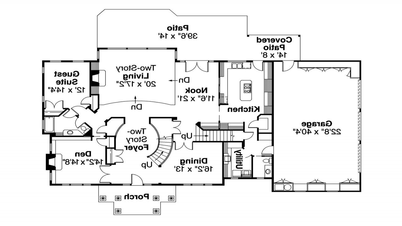 Colonial House Floor Plans Georgian Colonial House Plans