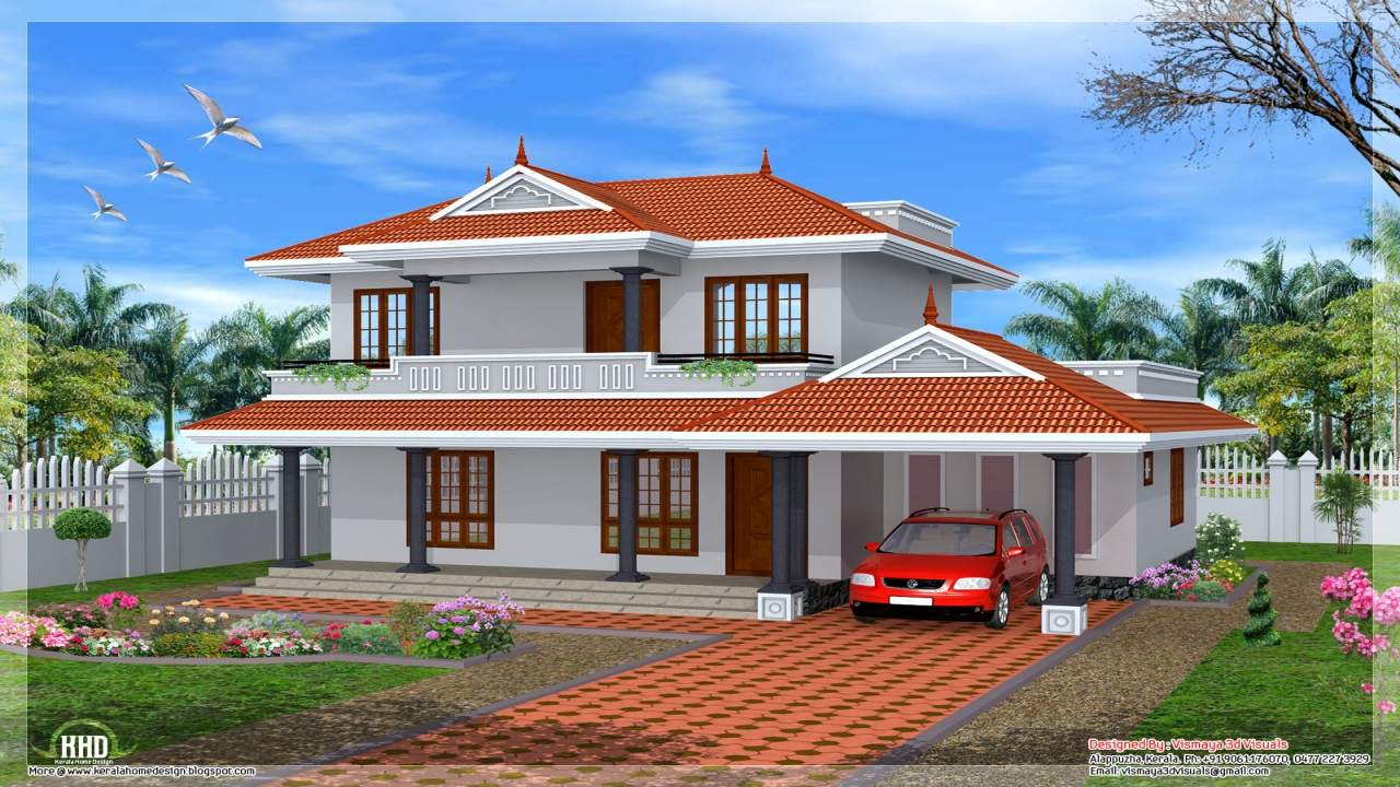 House plans kerala home design southern house plans plan for Southern home plans designs