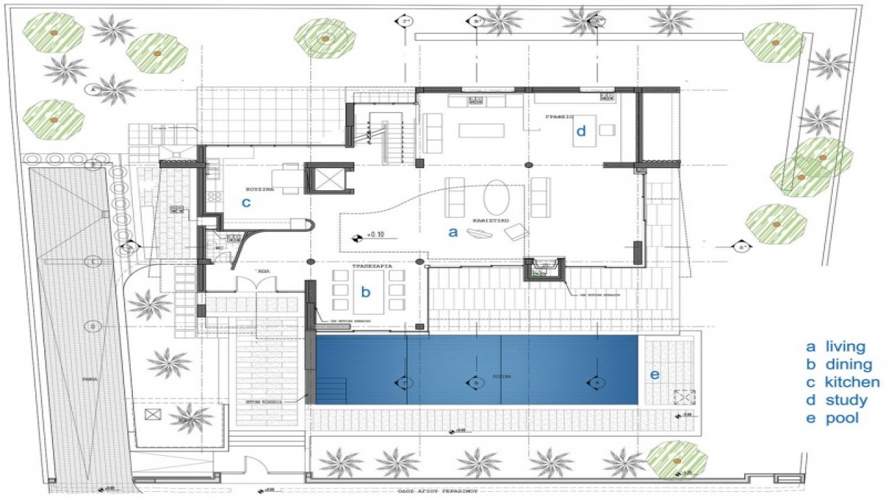 Modern contemporary home floor plans large modern for Contemporary homes floor plans