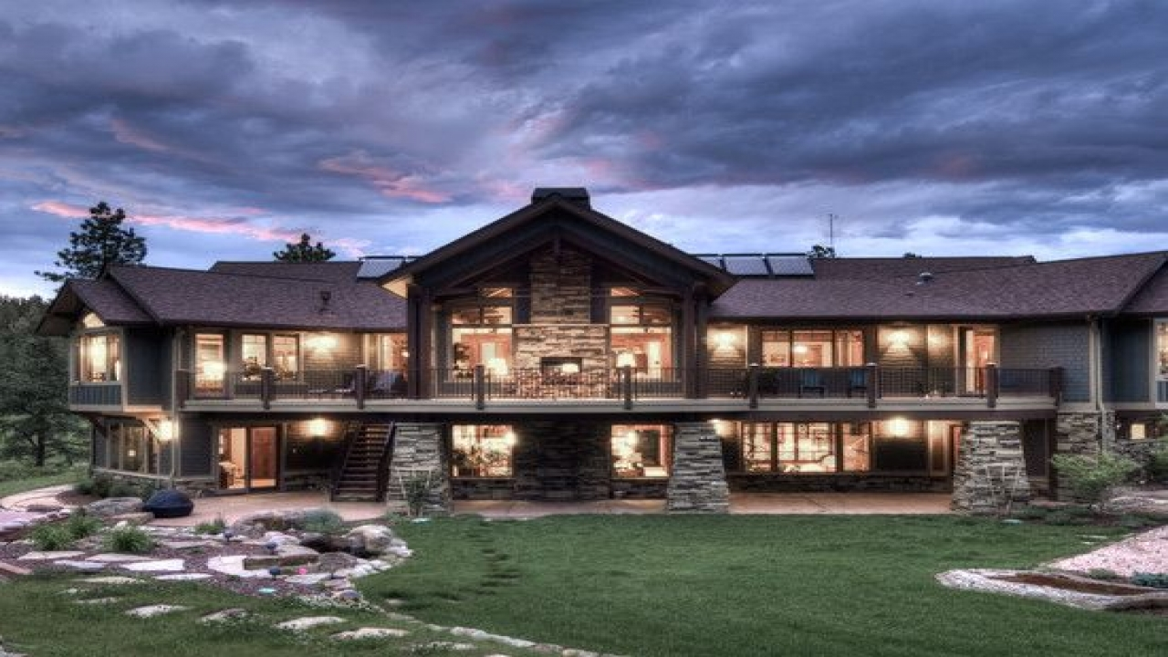 Mountain Craftsman Home Interior Ranch Style Homes