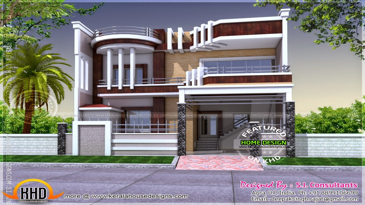 Colonial house unique modern contemporary house plans for Unique modern homes
