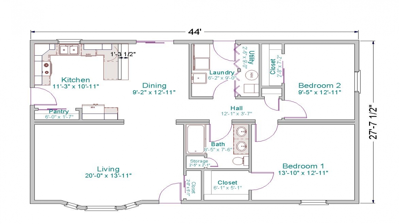 Rustic Cabin Floor Plans