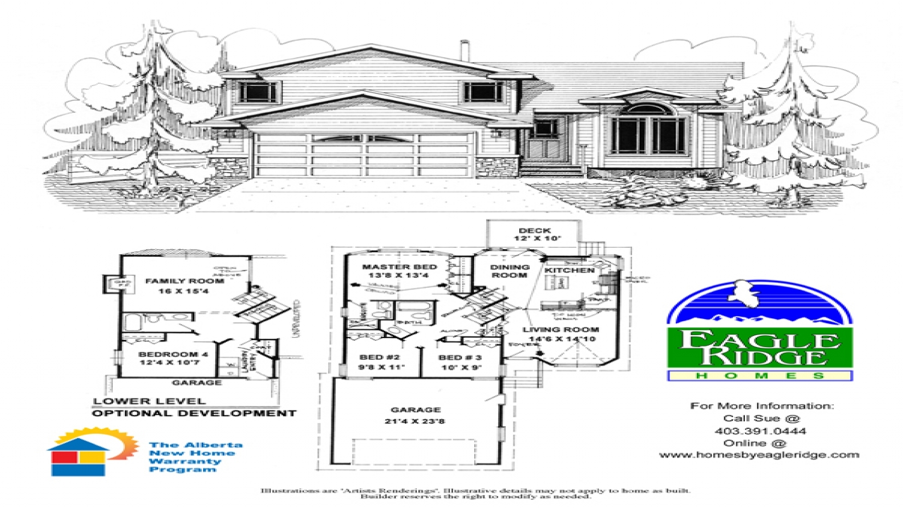 Side split house plans image search results reverse split for House plan search
