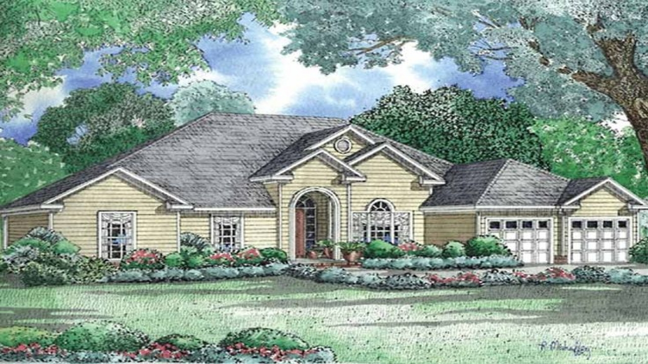 Craftsman house plans new american house plan future for New american house floor plans