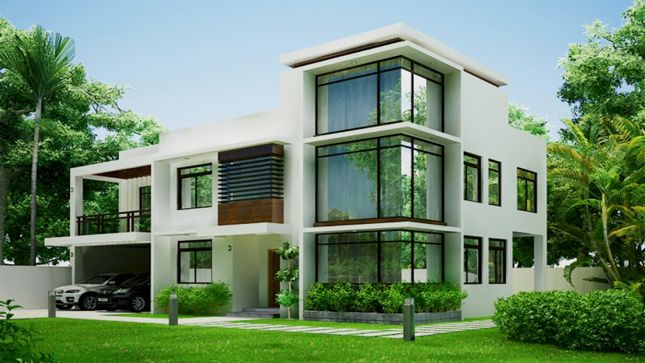 Small modern contemporary homes small modern home design - Modern contemporary house plans designs ...