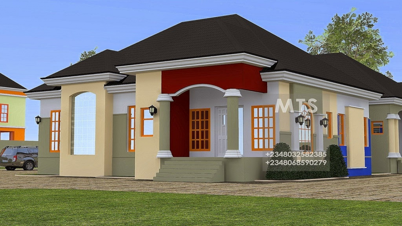 2 bedroom bungalow design bungalow house designs for Bungalow bedroom ideas