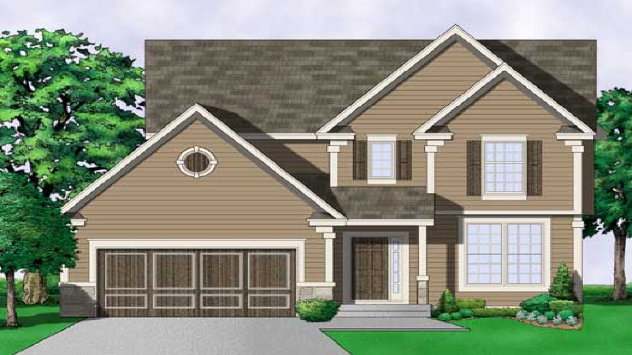 2 Story Southern Colonial House Plans Colonial House Plans