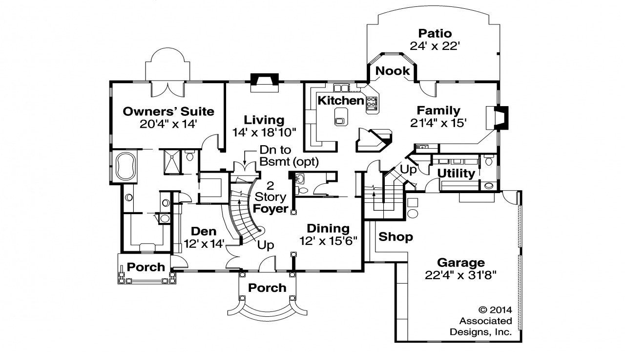 Image Result For Ranch House Plans
