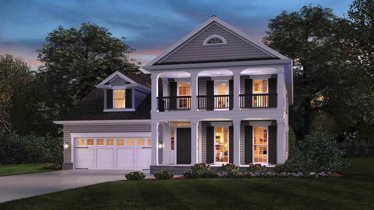 Colonial house plans designs one story mediterranean house for One story colonial homes
