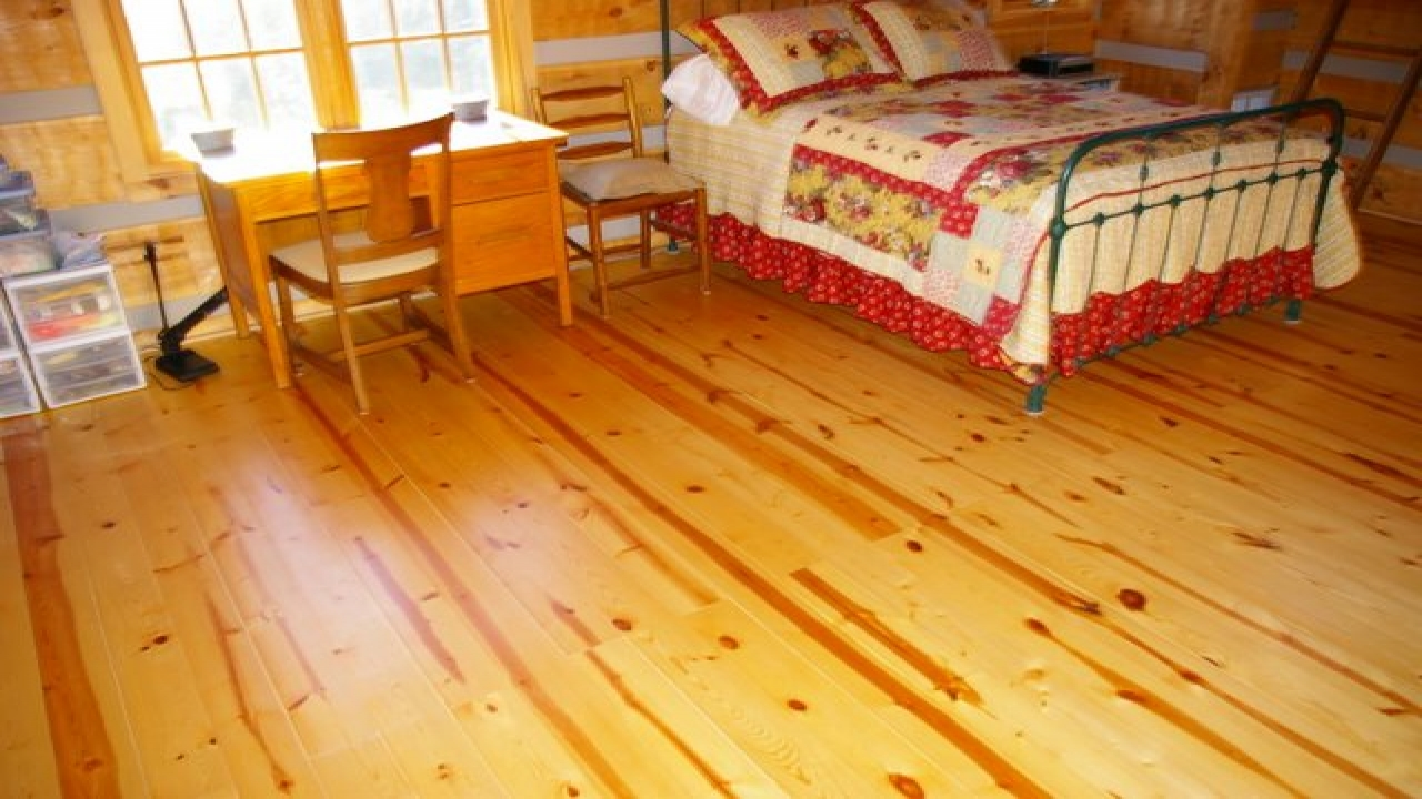 Log Cabin Pine Wood Floor Small Pine Logs Log Cabin
