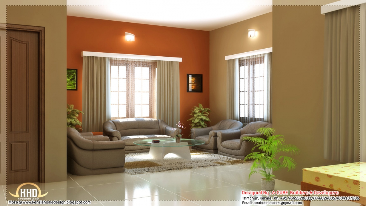 Design For Small House: House Interior Design Color Schemes Family Room Interior