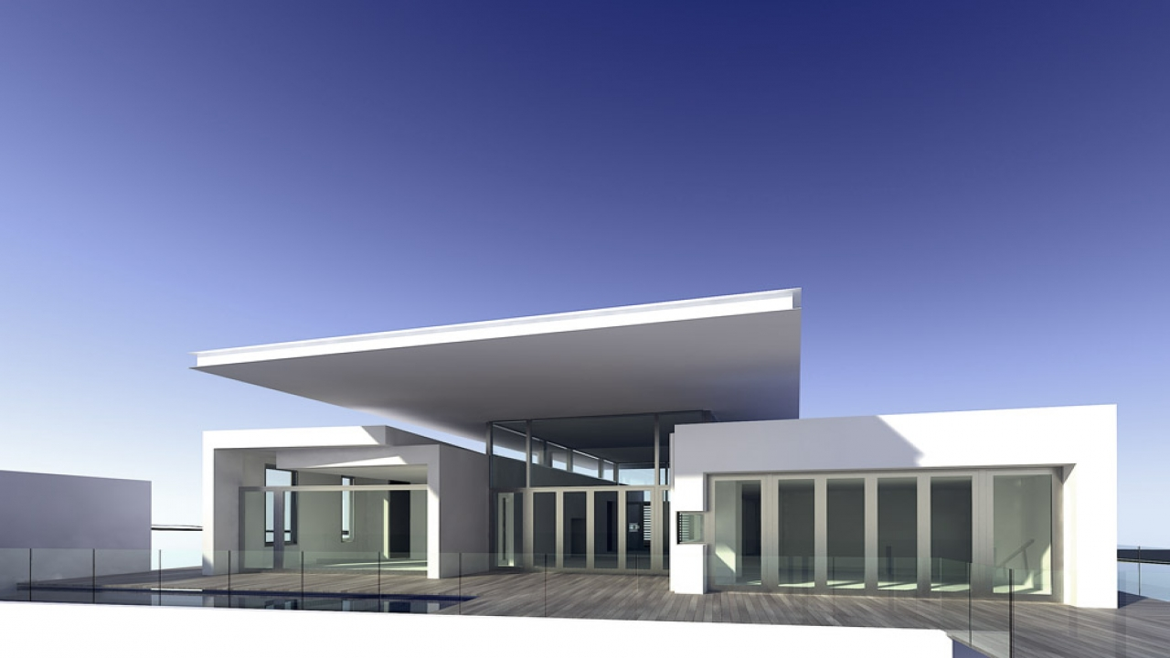Modern home minimalist house design modern minimalist for Modern minimalist house design