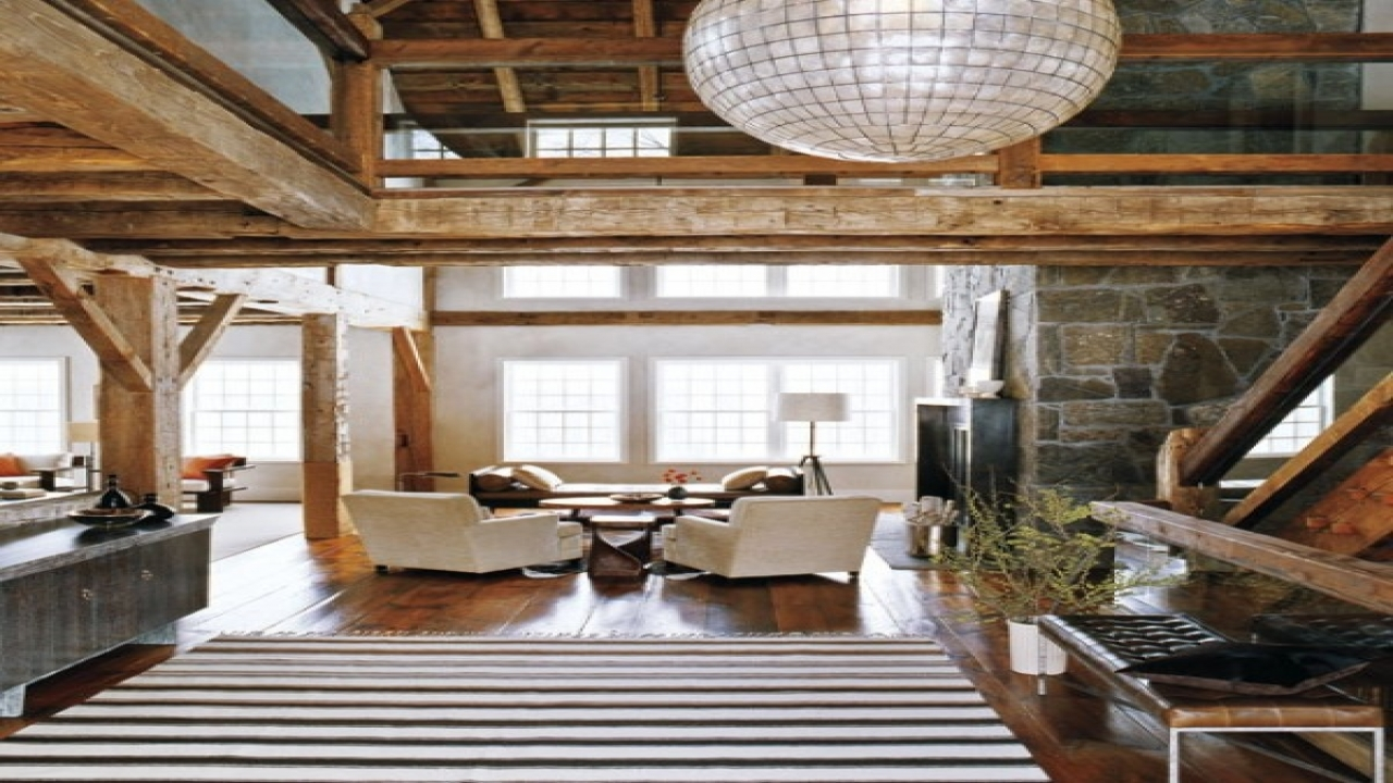 Barn homes modern rustic modern barn home interior design Modern rustic house plans