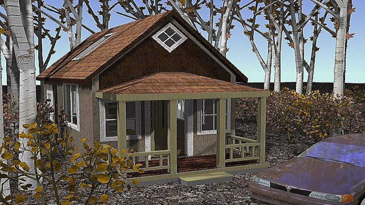 Small cottage cabin house plans small cottage house kits for Cabin and cottage kits