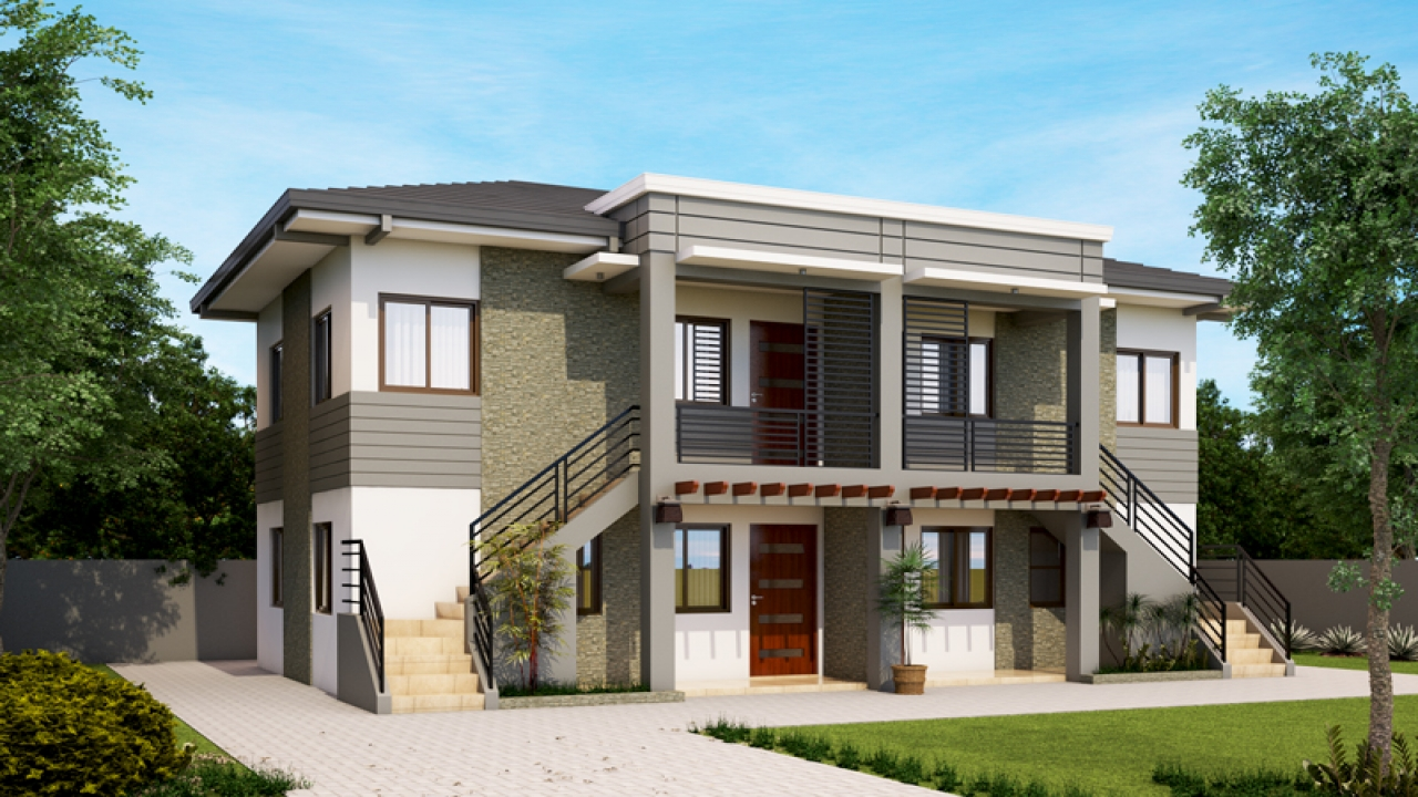 Modern bungalow house designs philippines apartment for Apartment building design ideas