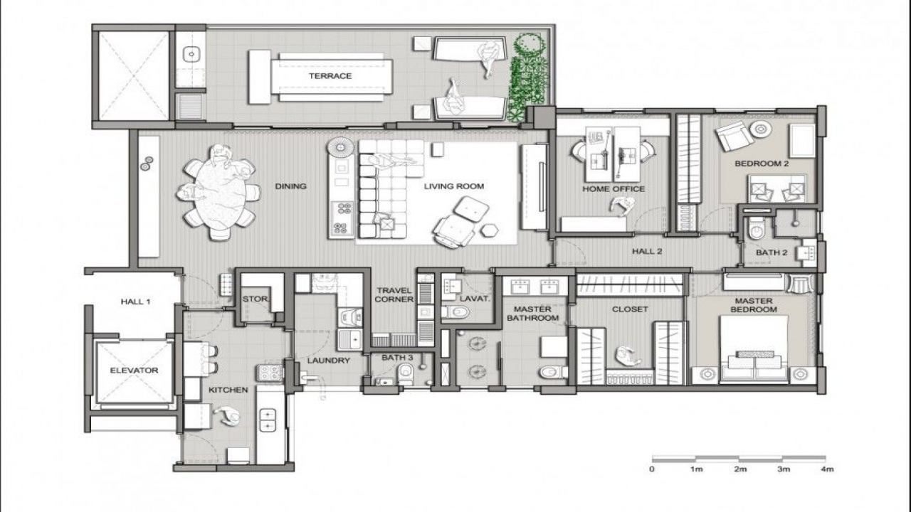 Modern home design plans beautiful modern houses modern for Beautiful modern home designs