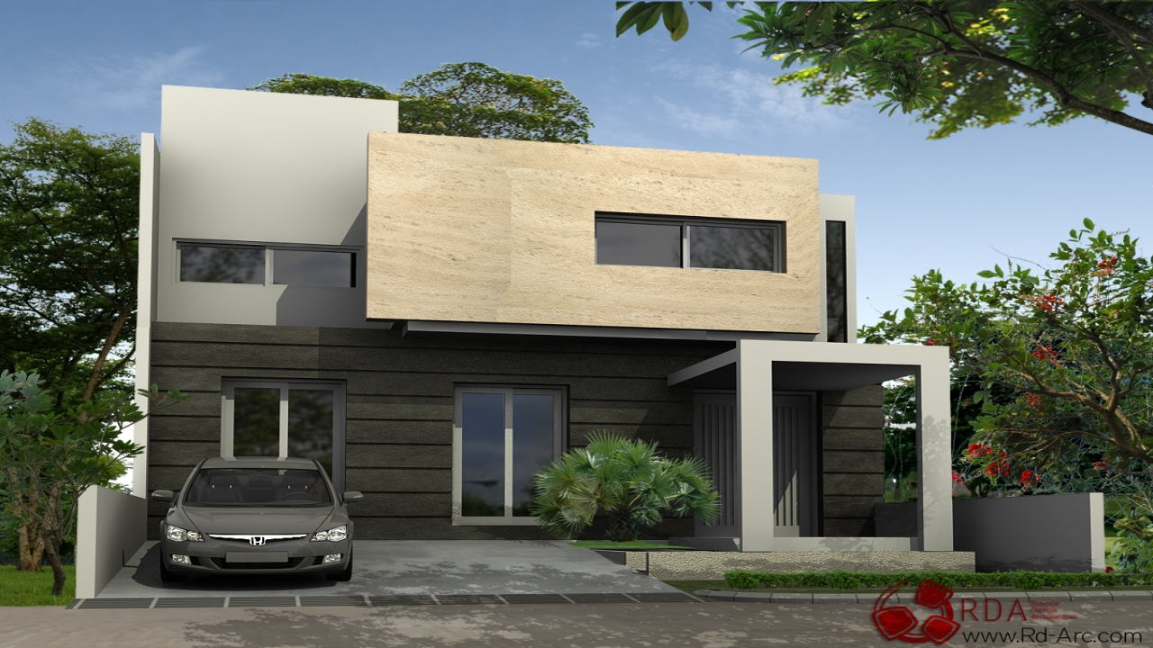 Modern minimalist house design minimal house design for Minimalist ranch house