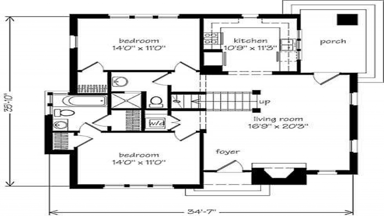 Stone cottage house floor plans stone cottage style homes for Small stone cottage floor plans