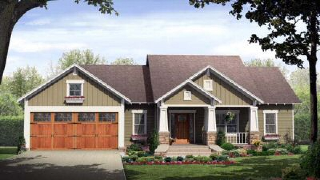 1960 ranch style homes home style craftsman house plans for Craftsman style ranch house