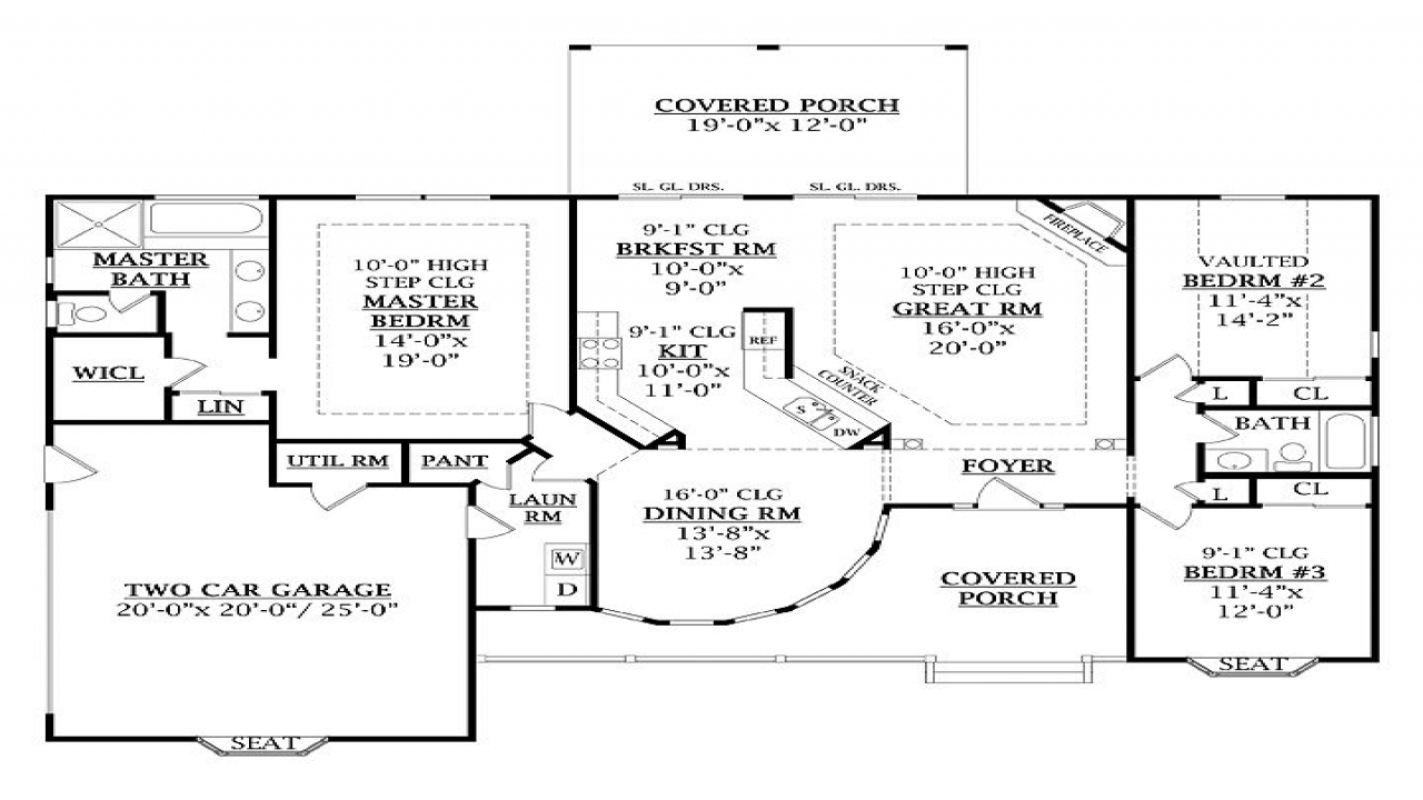 Homes under 1800 square feet 1800 square feet floor plans for 1800 sq ft open floor plans