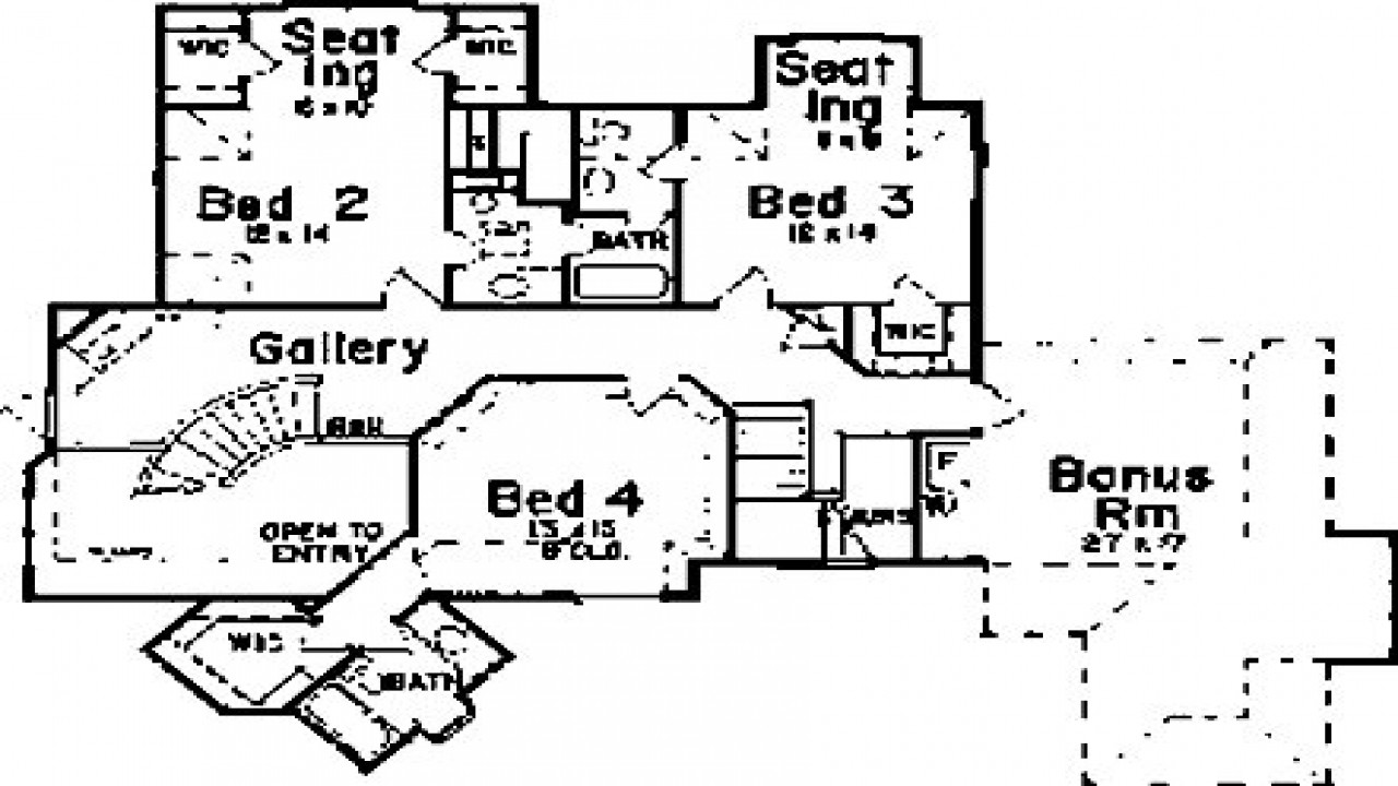 Luxury french chateau house plans french chateau floor for French floor plans