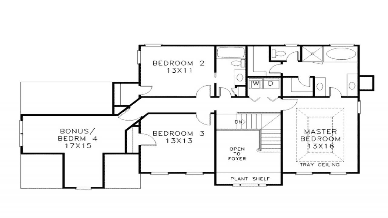 2 Story House Plans 2 Story House Plans With Wrap Around