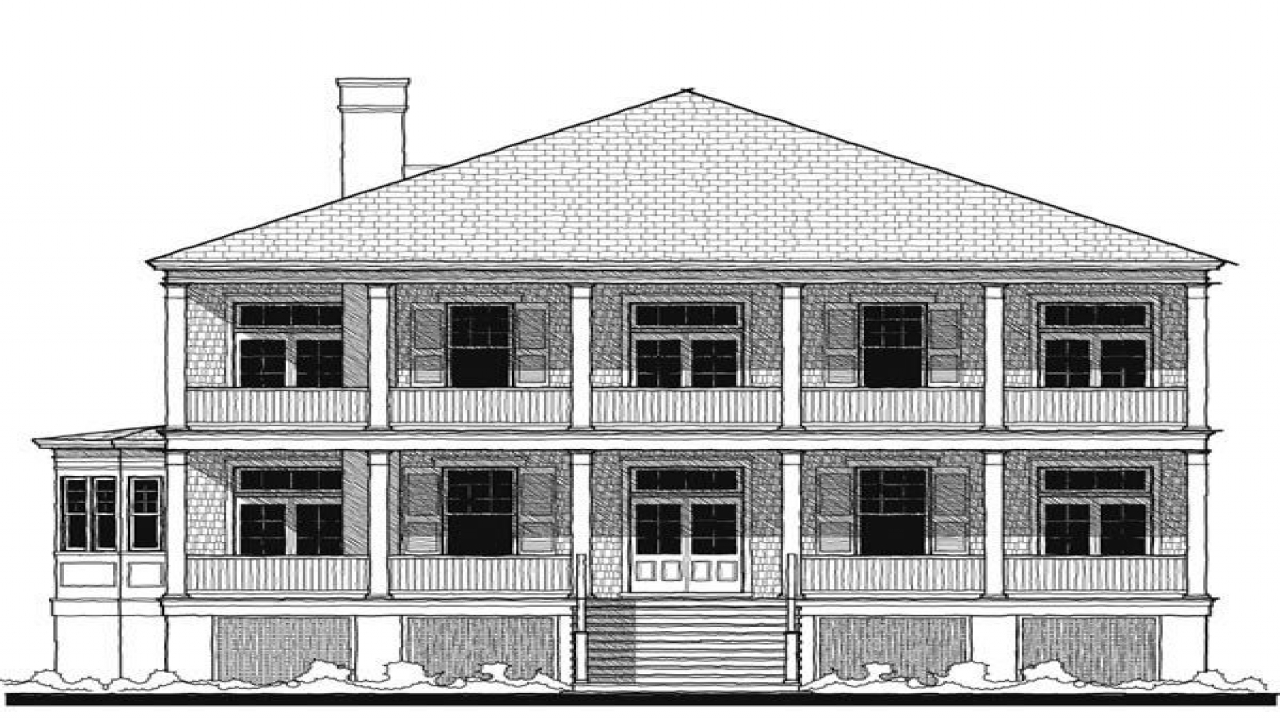 Historic southern house plans old southern house plans for Antebellum house plans