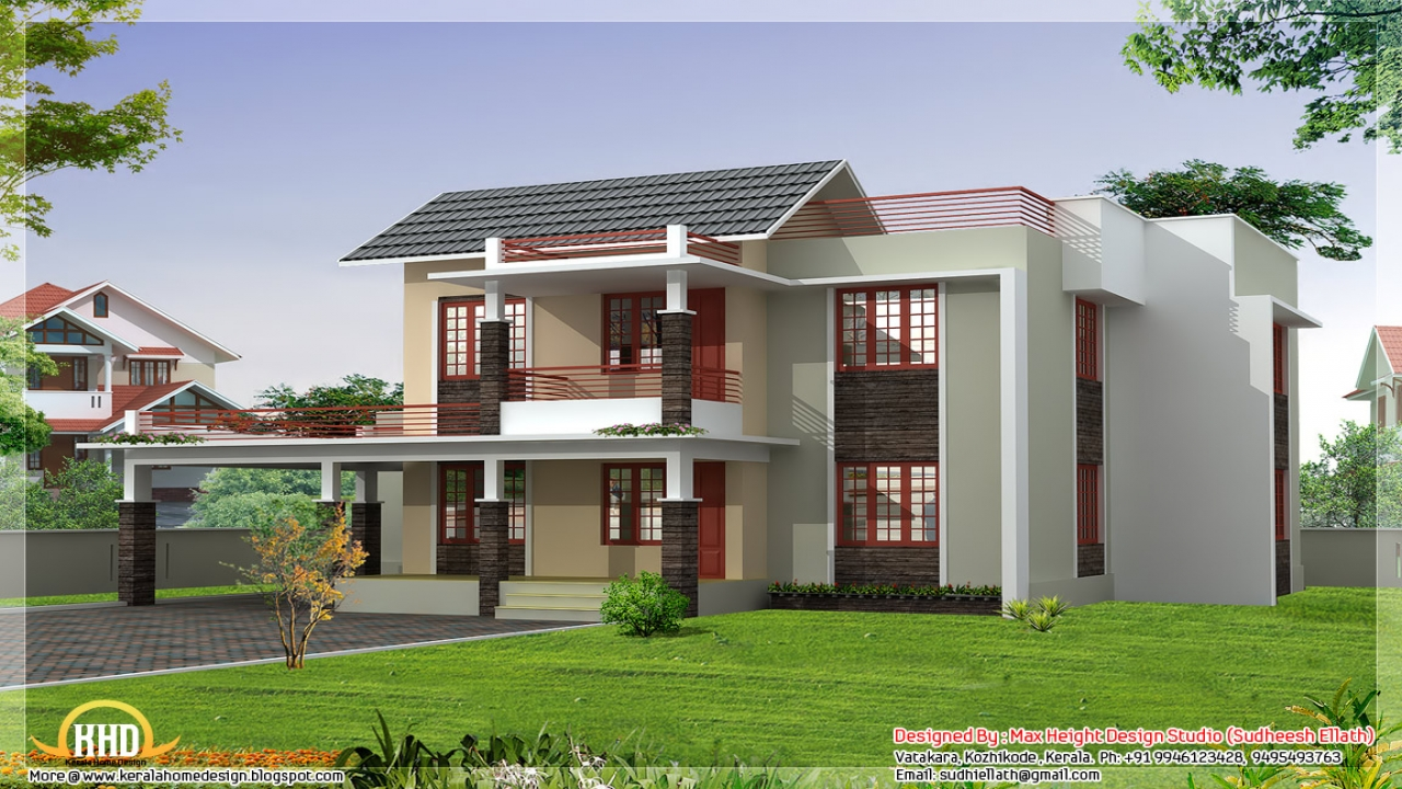 Indian style house design thai house design home designs for Thai style home designs