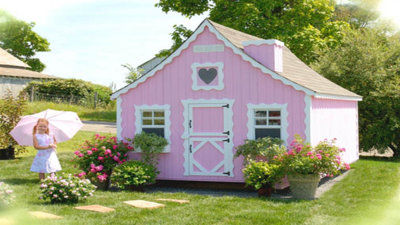 Girls Playhouse Plans Blueprints For Playhouses For Girls
