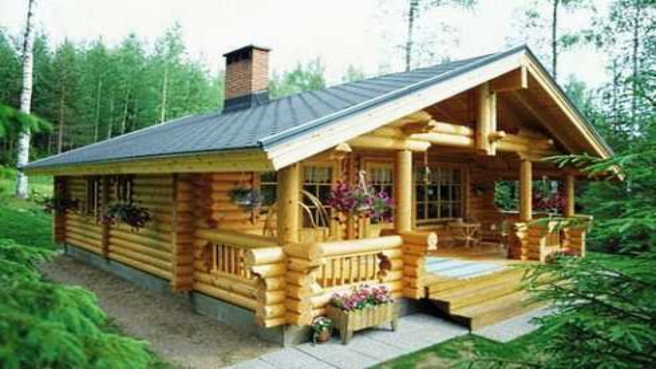 Small log cabin floor plans small log cabin kit homes log for Log cabin floor plans and prices