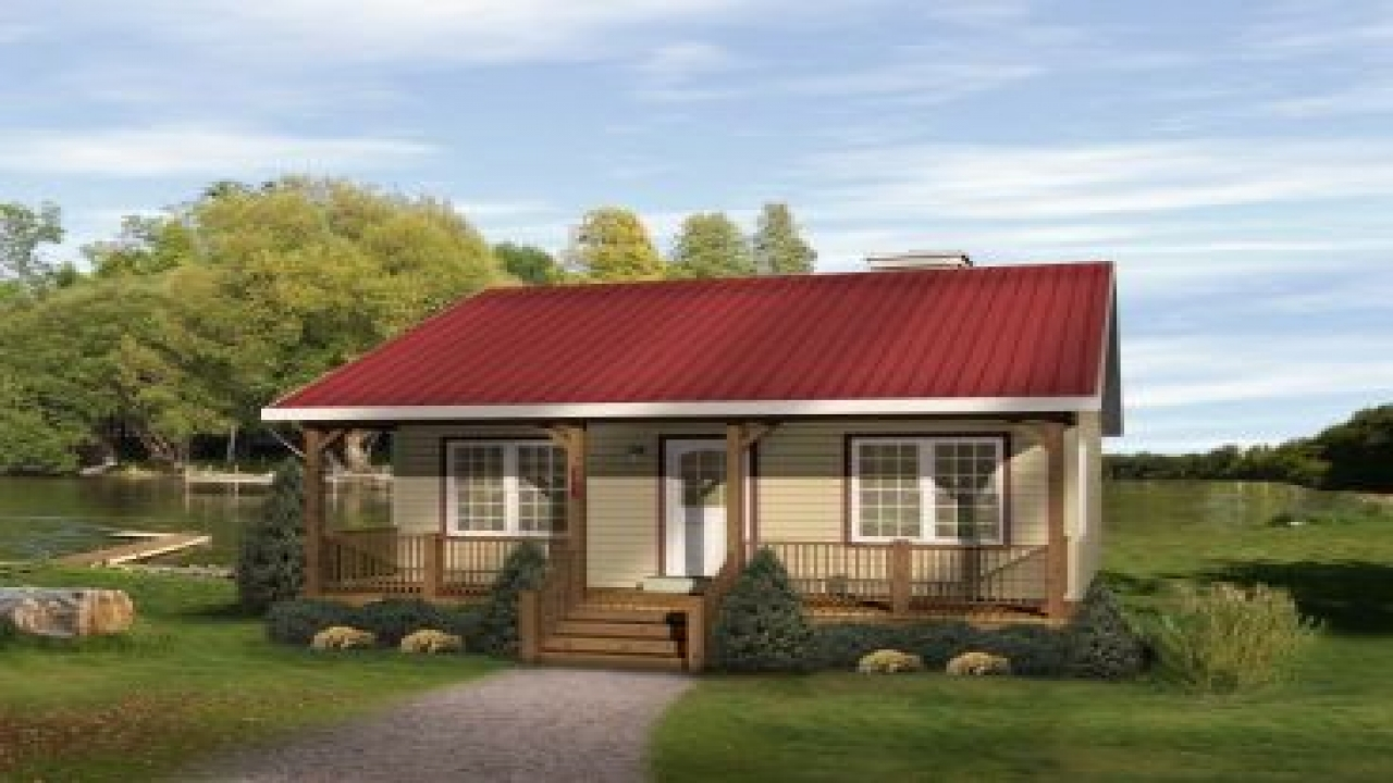 Small modern cottages small cottage cabin house plans for Small modern cottage plans