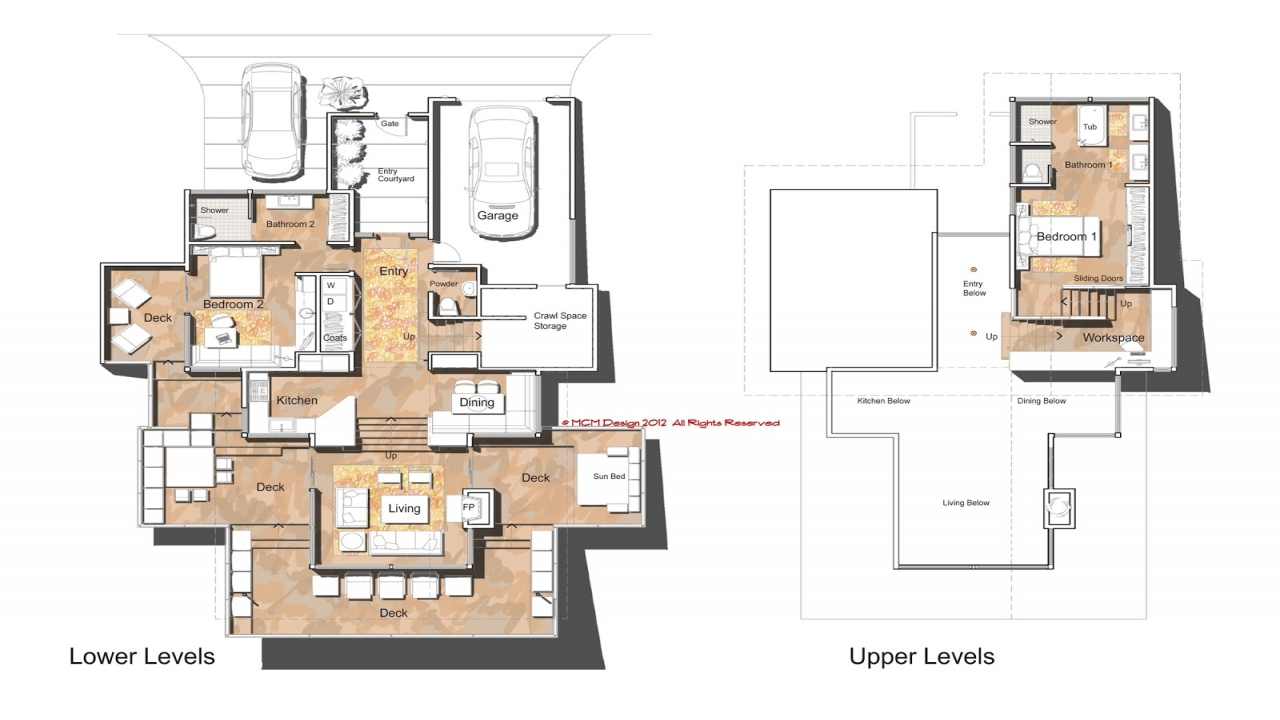 Ultra Modern House Floor Plans