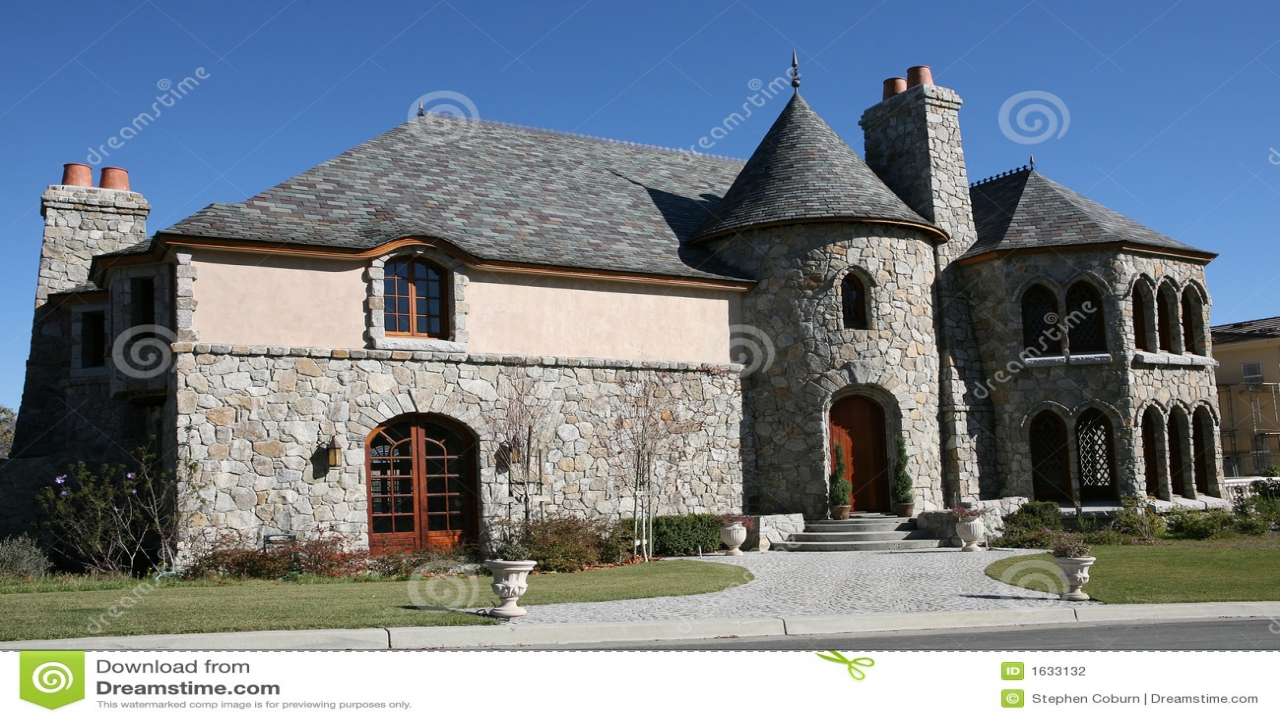 Different styles of homes residential castle style homes for Castle style homes