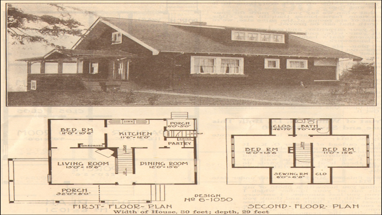 Old Style Bungalow Home Plans Old Bungalow House Plans