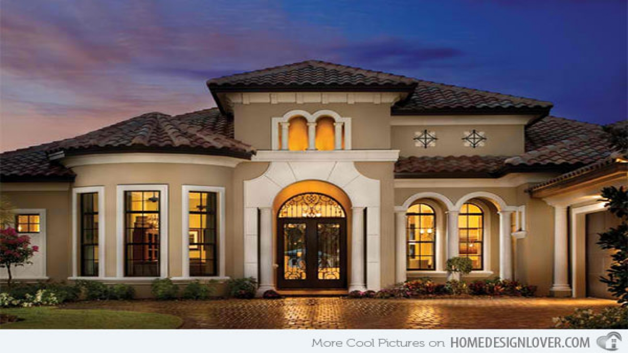 Home Design Ideas Classy: And Classy Mediterranean House Designs Home Design Lover