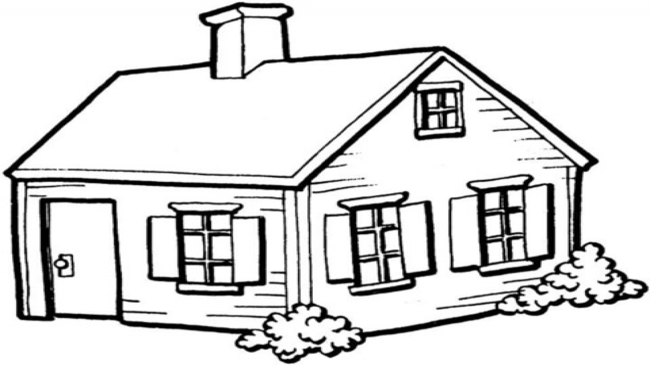 simple haunted house coloring pages - house coloring pages for adults house coloring pages