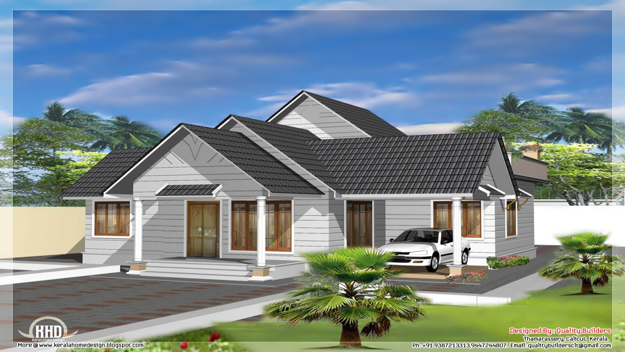 Single storey home designs beautiful single storey house for Single dwelling house plans
