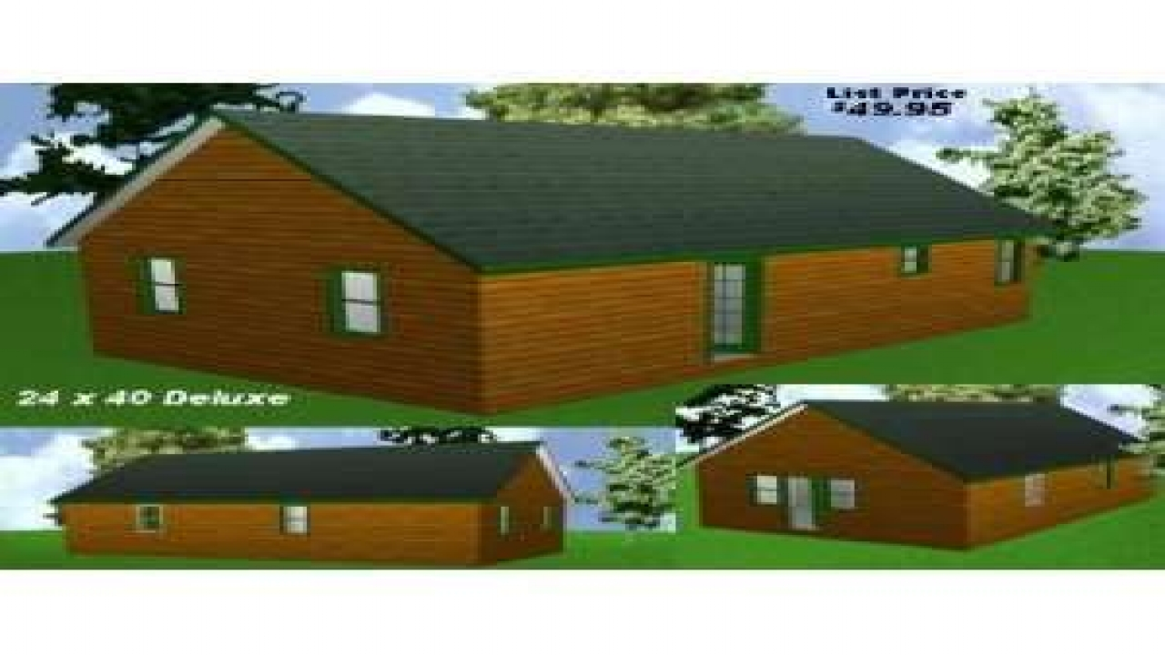 24x40 cabin floor plans 24 x 40 floor plans easy cabin for Simple cabin plans 24 by 24