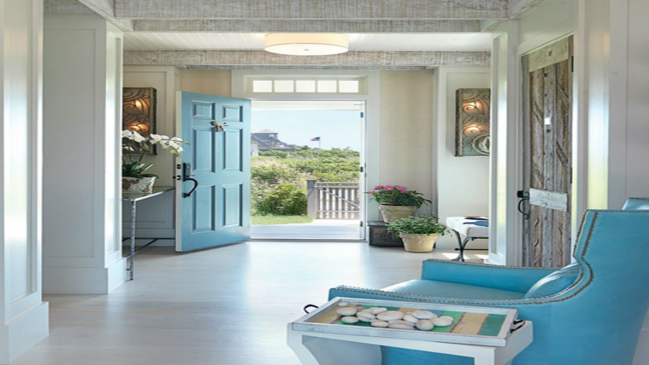 Beach cottage interior doors double french doors interiors for French country beach house