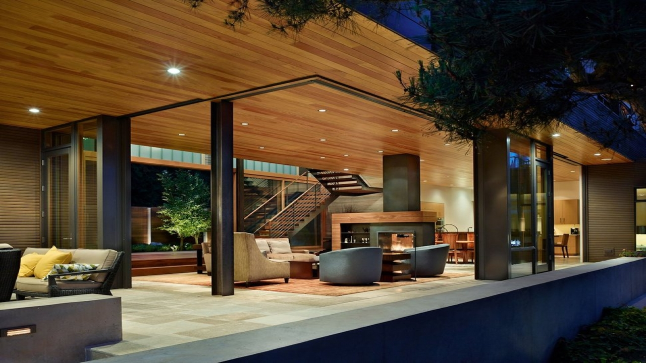House with Courtyard Design Courtyard with Pool House home plans seattle Treesranch com