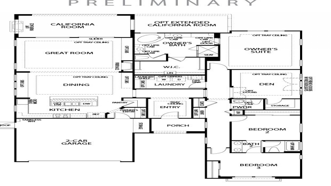 Pulte Homes Logo Pulte Single Story Floor Plans, Single