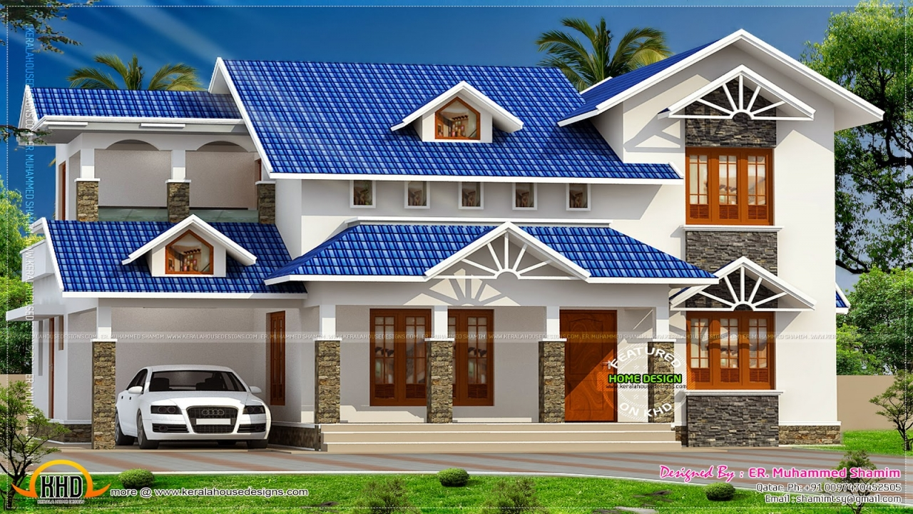 House roof designs sloping roof house roof house design for Roof plans for house