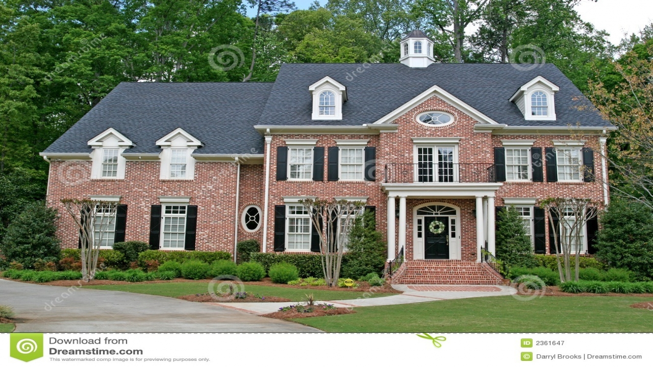 2 story brick homes two story brick house beautiful 2 for 2 story brick house plans